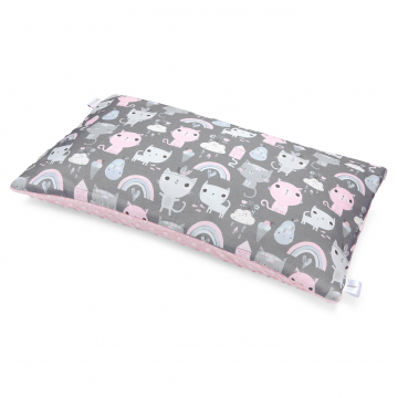 Bamboo fluffy pillow Kotahontas Blush