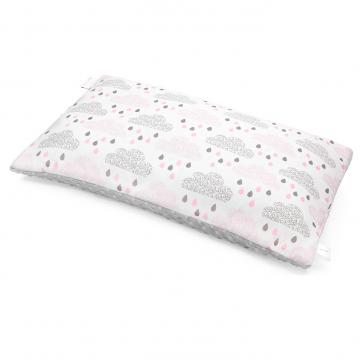 Bamboo fluffy pillow Blush rain Silver