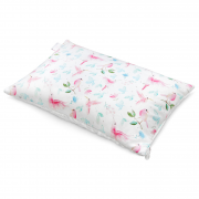 Luxe fluffy pillow Paradise birds White