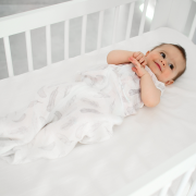 Bamboo muslin sleeping bag Paradise feathers