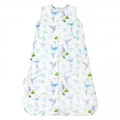 Summer bamboo sleeping bag - Heavenly birds