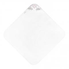 Ręcznik bambusowy niemowlaka Pudrowy deszczyk - Śmietanka