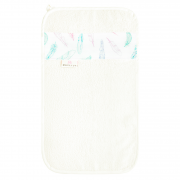 Ręcznik bambusowy do rąk - Rajskie piórka - śmietanka