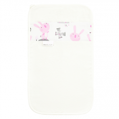 Bamboo hand towel - Bunnies - cream