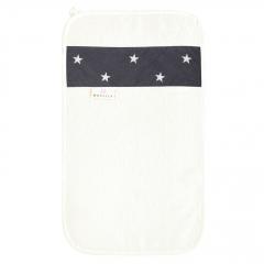 Bamboo hand towel - Stars - cream