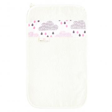 Ręcznik do rąk Pudrowy deszczyk Śmietanka