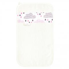 Bamboo hand towel Blush rain - Cream
