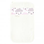 Ręcznik bambusowy do rąk - Pudrowy deszczyk - śmietanka