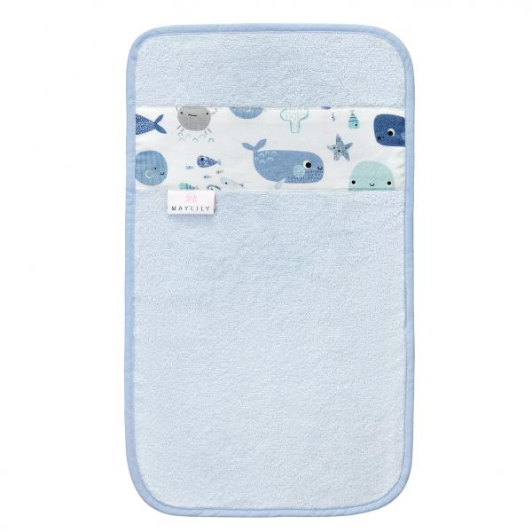 Ręcznik do rąk Fiszki Błękit