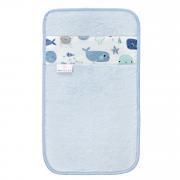 Ręcznik bambusowy do rąk - Fiszki - błękit