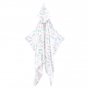 Bamboo muslin towel Paradise feathers
