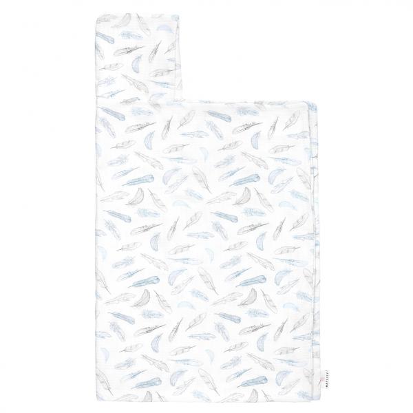 Ręcznik bambusowy muślinowy Niebiańskie piórka