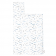 Ręcznik bambusowy muślinowy - Niebiańskie piórka