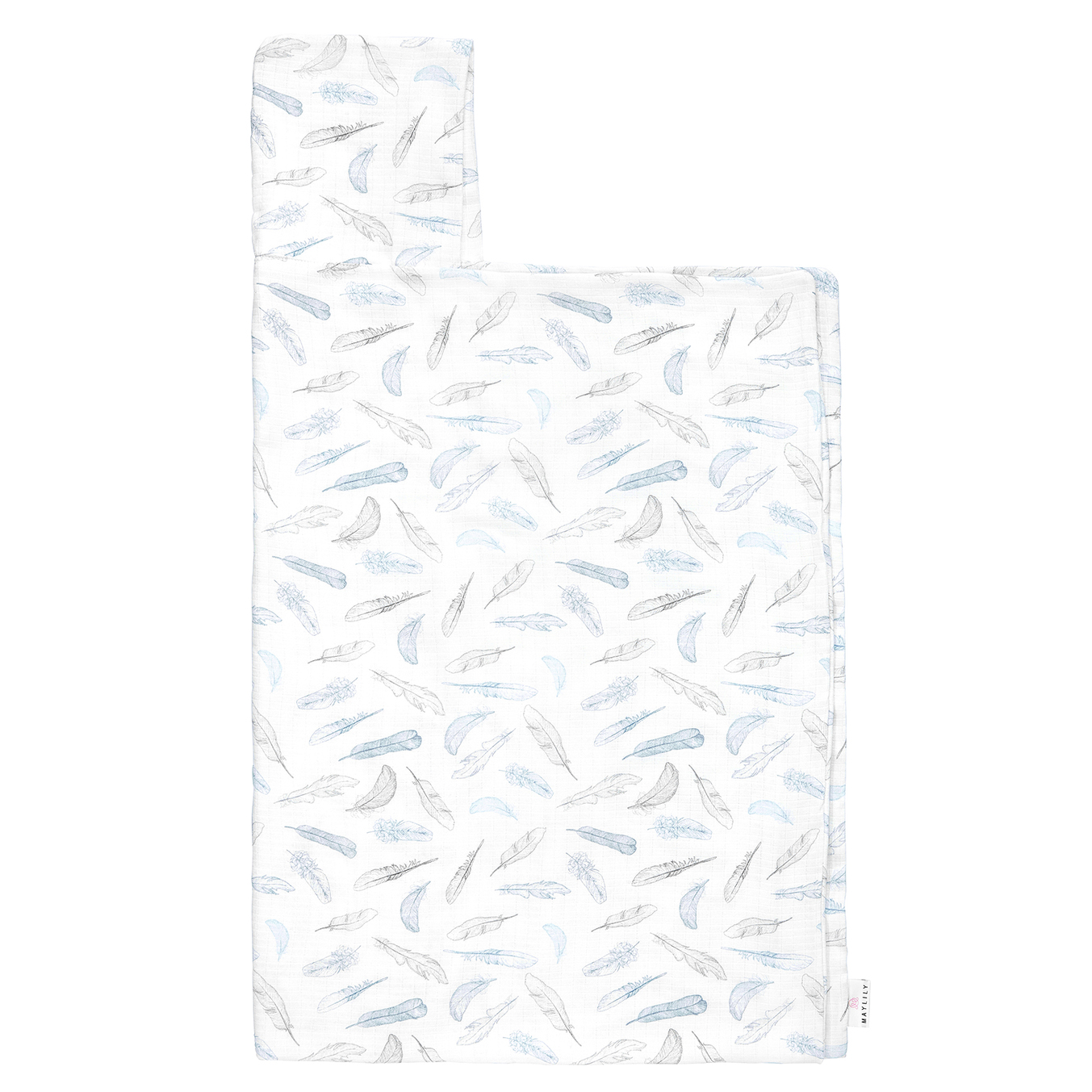Bamboo muslin towel Heavenly feathers