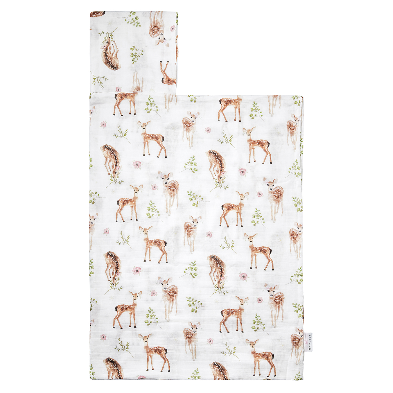 Bamboo muslin towel Fawns