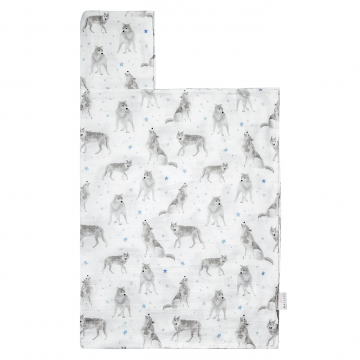 Bamboo muslin towel Star wolves