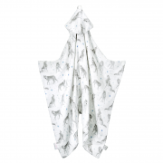 Bamboo muslin towel Star wolves
