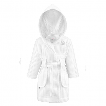 Bathrobe Little SPA White