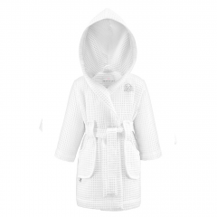 Little SPA bathrobe - white