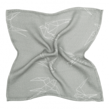 Bamboo muslin mini square Swallows