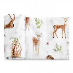Bamboo square - Fawns