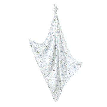 Bamboo muslin swaddle Heavenly birds
