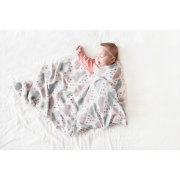 Bamboo muslin swaddle Fawns