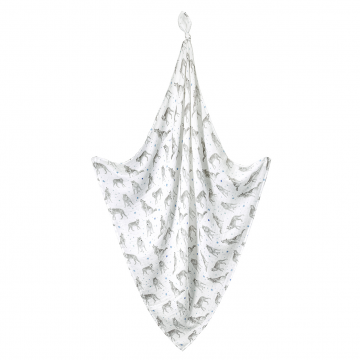 Bamboo muslin swaddle Star wolves