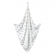 Bamboo muslin swaddle 120x120 - star wolves