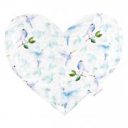 Pieluszka Sweetheart - Niebiańskie ptaszki