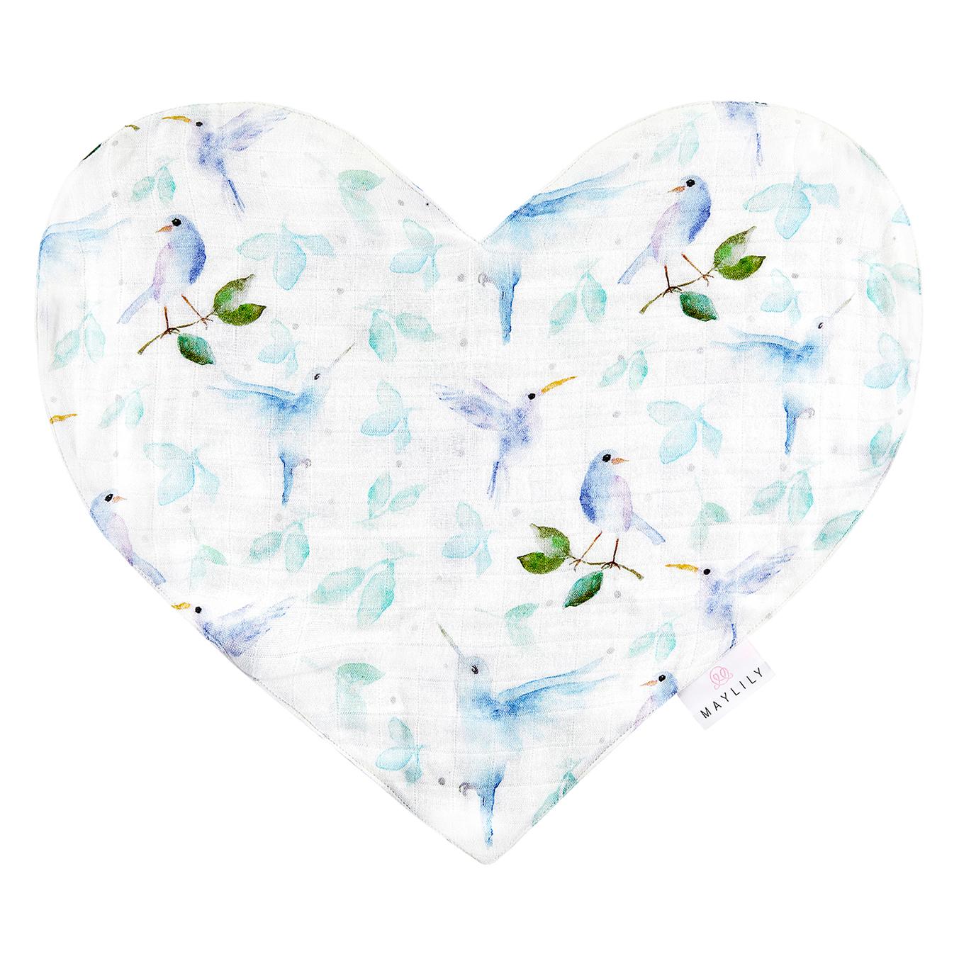 Pieluszka Sweetheart Niebiańskie ptaszki