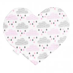 Pieluszka Sweetheart - Pudrowy deszczyk
