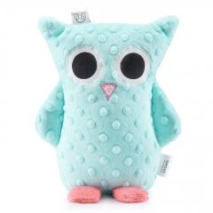 Cuddly owl Lili - ice
