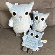 Lili Cuddly owl Silver