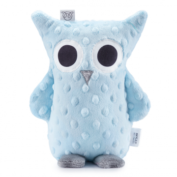 Lili Cuddly owl Light blue