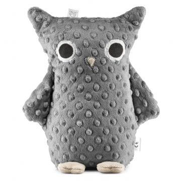 Mila Cuddly owl Graphite