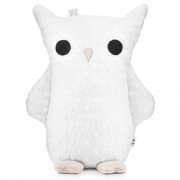 Cuddly owl Mila - snow