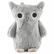 Furry owl - Silver