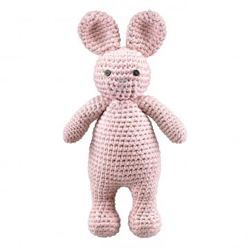 Bunny friend - dusty pink