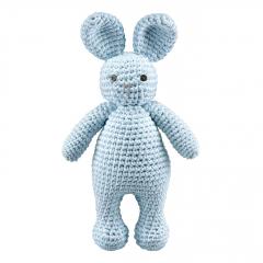 Bunny friend - light blue