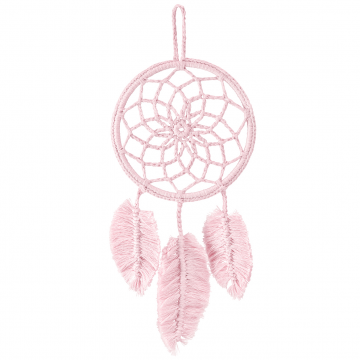 Dreamcatcher mini Dusty pink