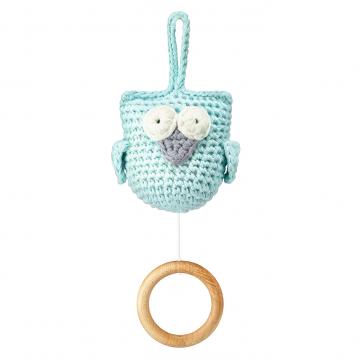 Music box Owl mint