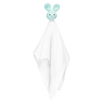 Snuggle bunny security blanket Mint