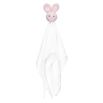 Snuggle bunny security blanket Dusty pink