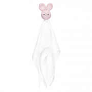 Snuggle toy Bunny -  dusty pink