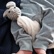 Snuggle bunny security blanket Grey