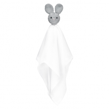 Snuggle bunny security blanket Grey