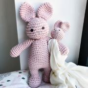 Snuggle bunny security blanket Cream