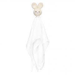 Snuggle bunny security blanket Cream