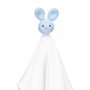 Snuggle bunny security blanket Blue